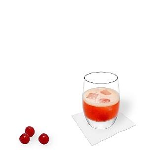 A lo mejor sirves Aperol Sour en un vaso Tumbler.