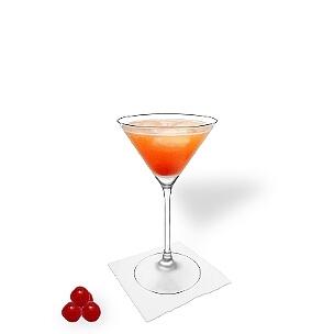 Copas de Martini son otra opción para presentar Aperol Sour.