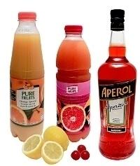 Ingredientes para Aperol Sour