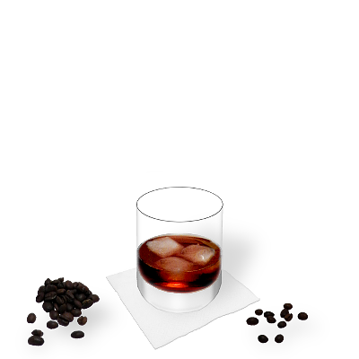 Black Russian con decoración individual