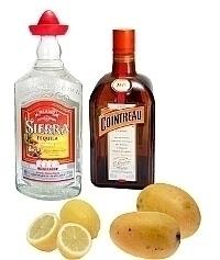 Ingredientes para Frozen Mango Margarita: Con Mango Fresco (estándar)