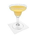 Preparación de Frozen Mango Margarita: Servir