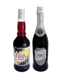 Ingredientes para Kir Royal: Con Licor de Grosellas Negras (estándar)