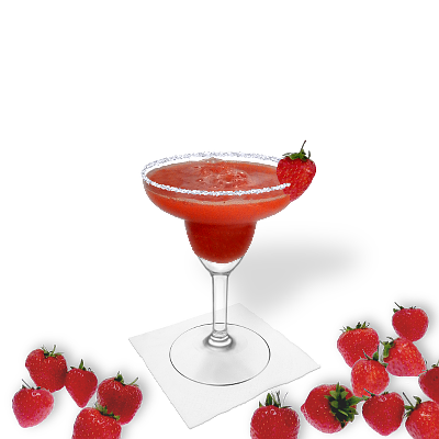 Frozen Strawberry Margarita Recipe Cocktails Drinks